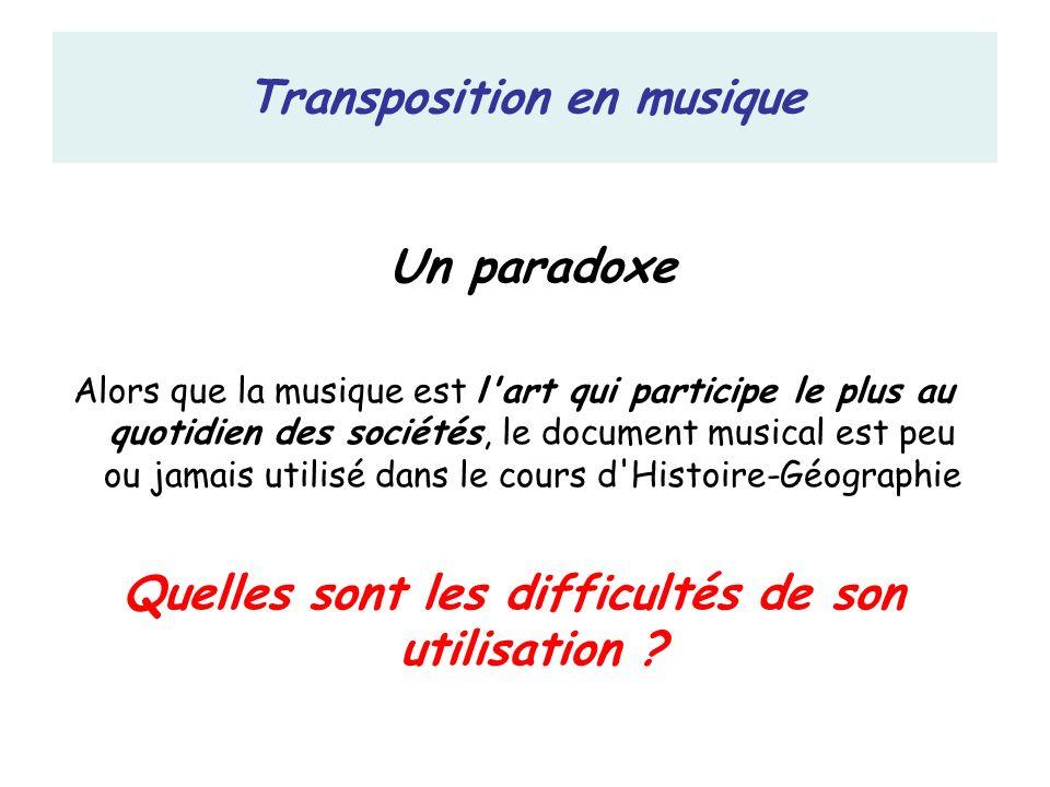 Le problème de la périodisation Les rythmes de l histoire de la musique sont particuliers La musique contemporaine est très mal connue … Quelques rappels …