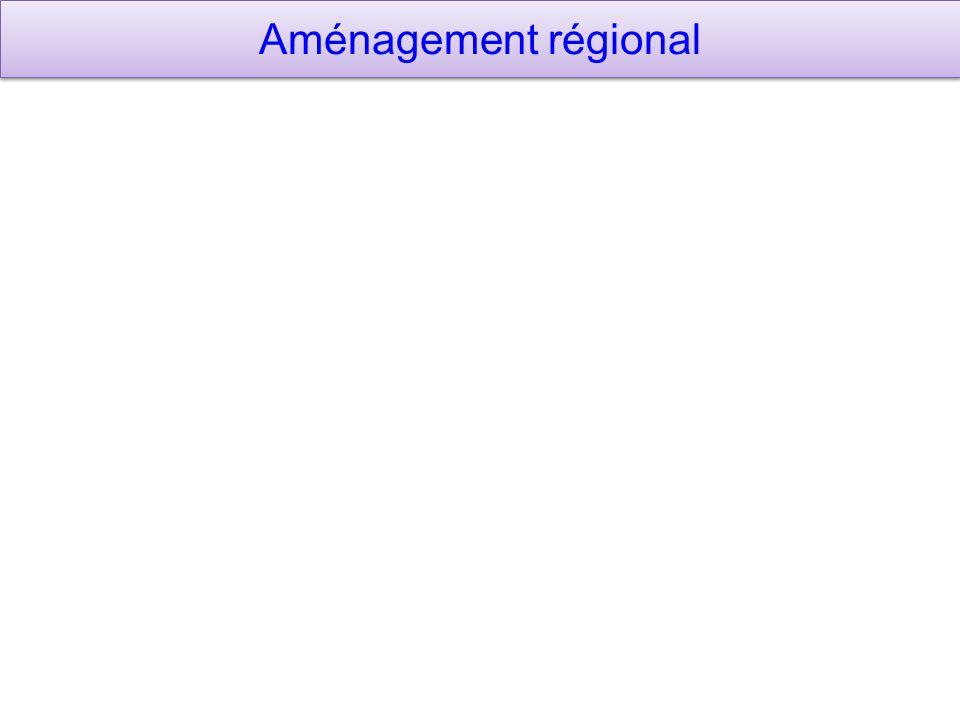 Aménagement régional