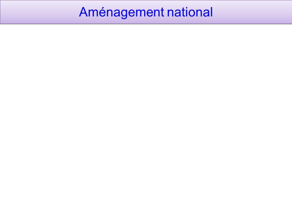 Aménagement national