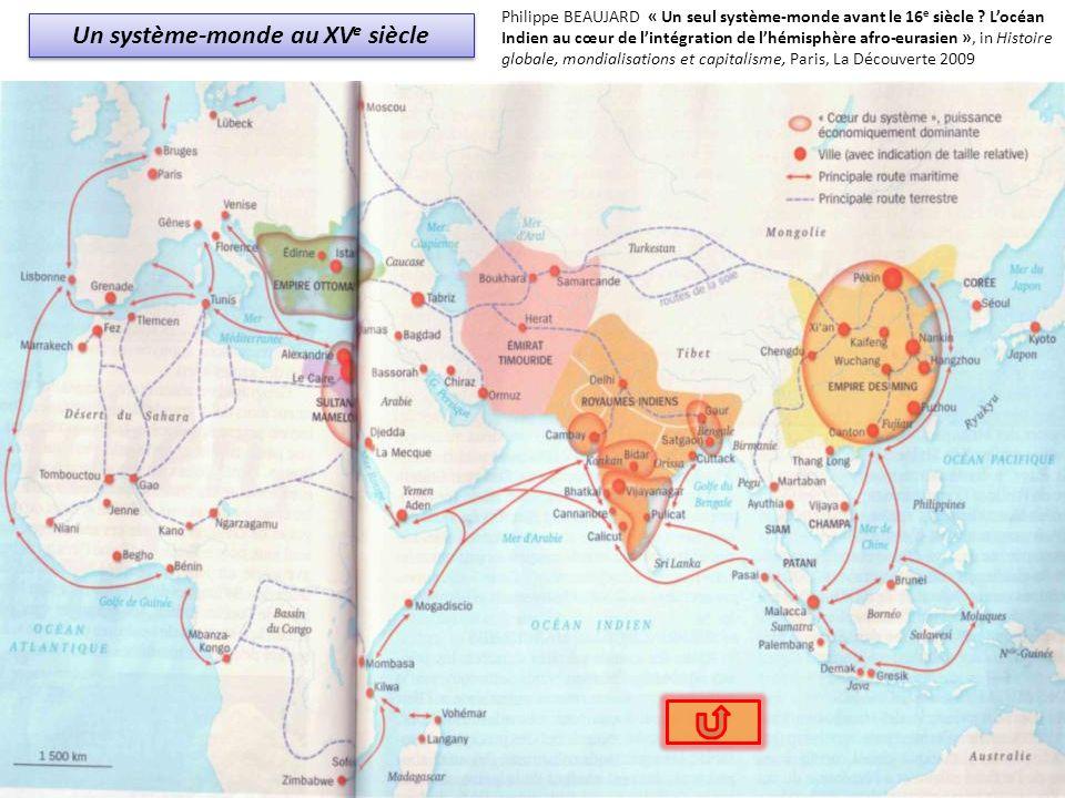 Un système-monde au XV e siècle Philippe BEAUJARD « Un seul système-monde avant le 16 e siècle ? Locéan Indien au cœur de lintégration de lhémisphère