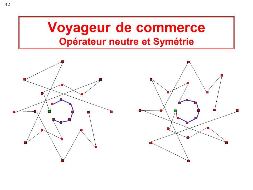 42 Voyageur de commerce Opérateur neutre et Symétrie