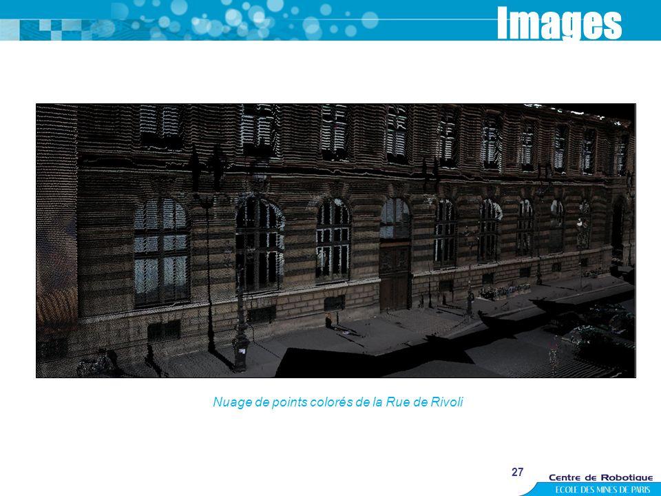 27 Images Nuage de points colorés de la Rue de Rivoli