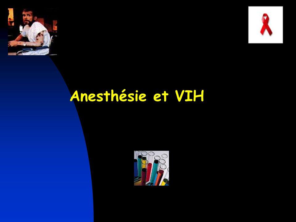 Anesthésie et VIH