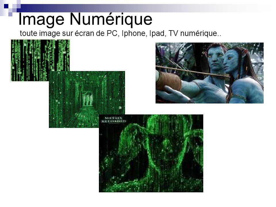 La couleur des pixels dans cette vue est définie automatiquement; elle symbolise la distance entre la surface correspondante et la caméra.