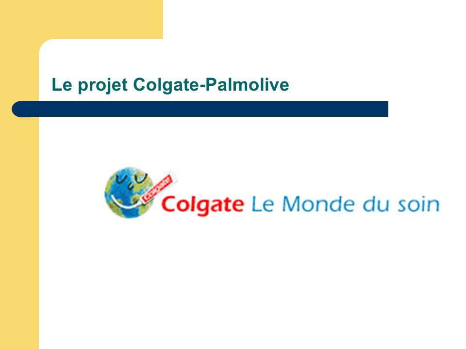 Le projet Colgate-Palmolive