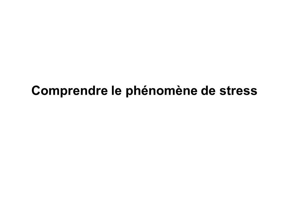 Comprendre le phénomène de stress