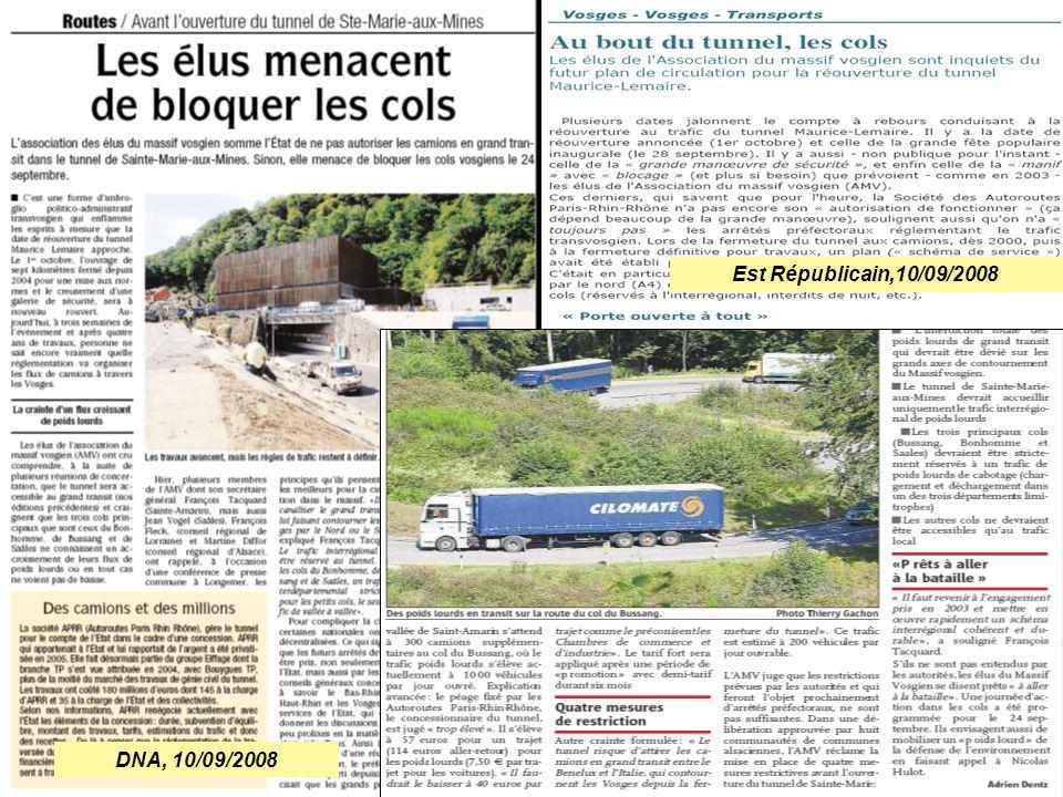 DNA, 10/09/2008 Est Républicain,10/09/2008