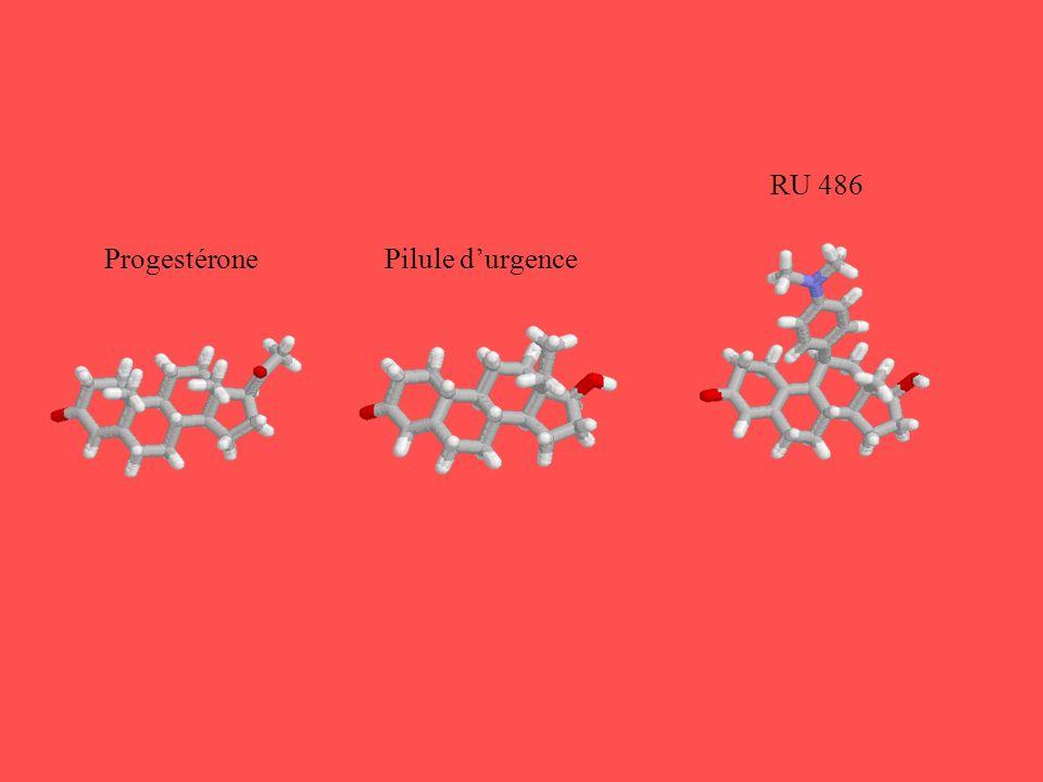 ProgestéronePilule durgence RU 486