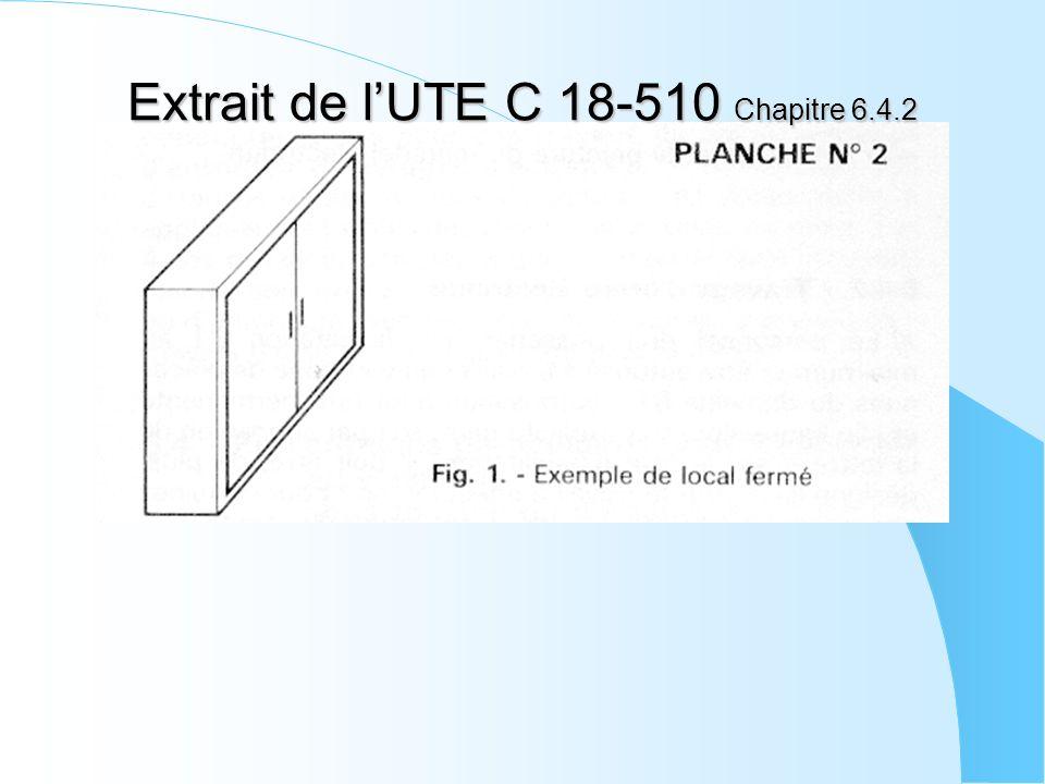 Extrait de lUTE C 18-510 Chapitre 6.4.2
