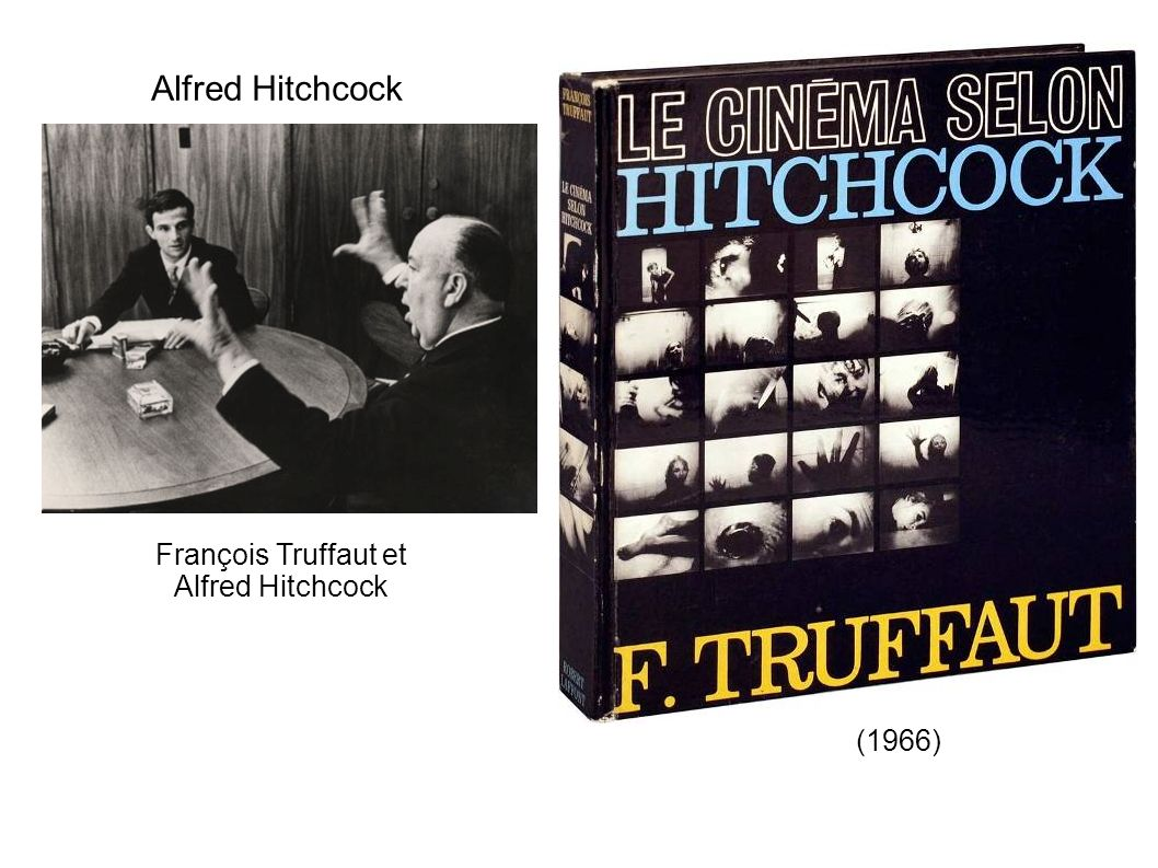 Alfred Hitchcock François Truffaut et Alfred Hitchcock (1966)