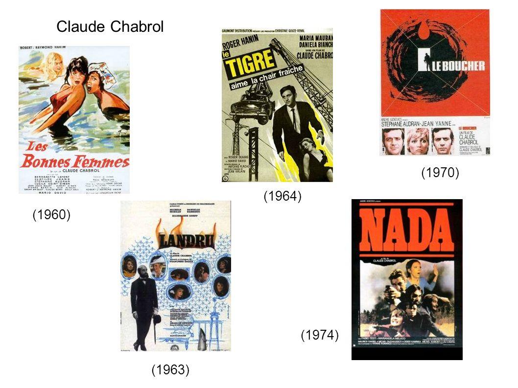 Claude Chabrol (1970) (1960) (1963) (1964) (1974)