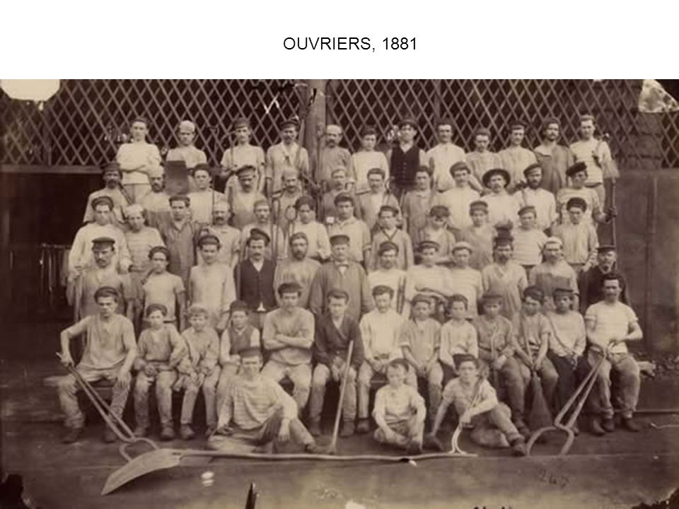 OUVRIERS, 1881