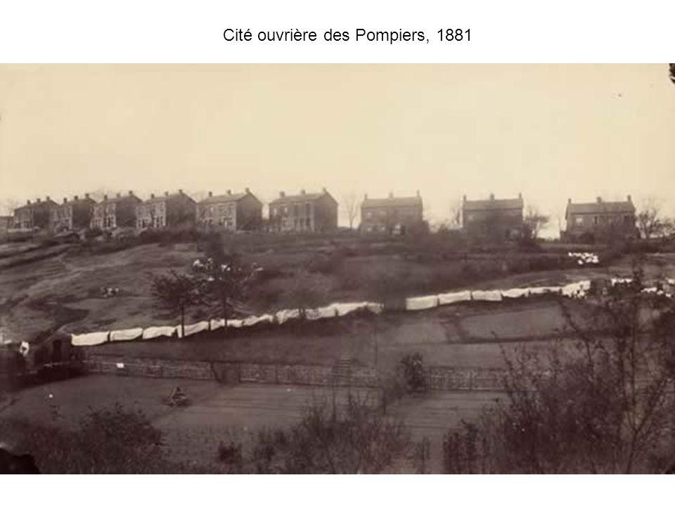 Cité ouvrière des Pompiers, 1881