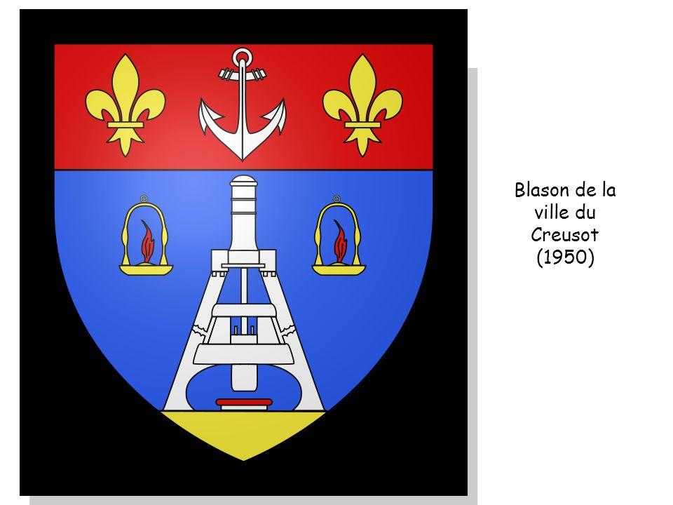 Blason de la ville du Creusot (1950)