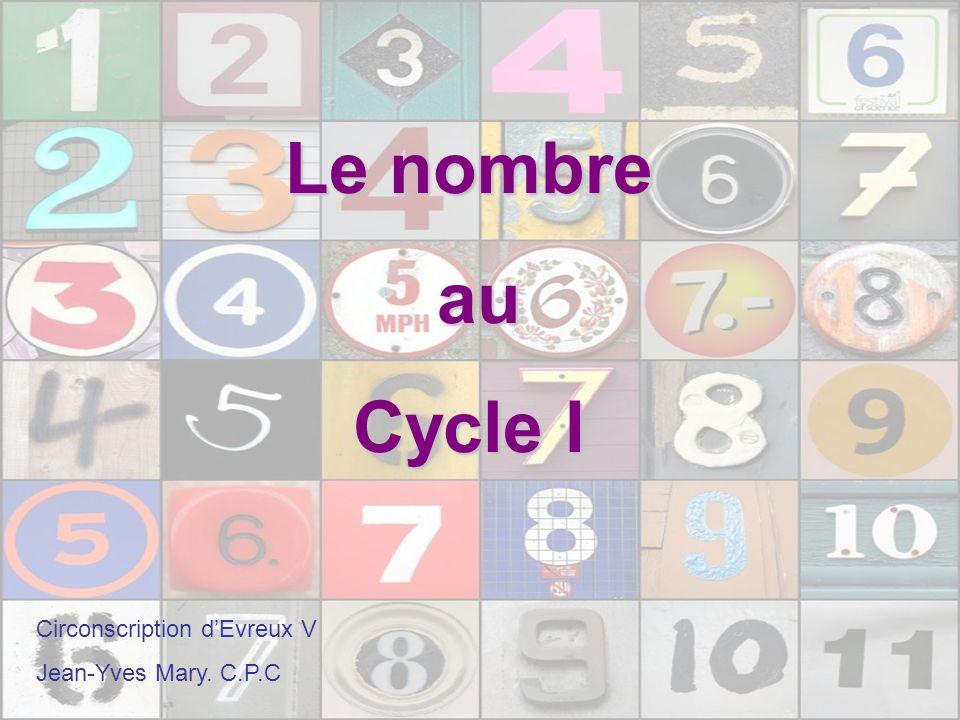Les programmes 2008 Les enfants découvrent et comprennent les fonctions du nombre : - comme représentation de la quantité.