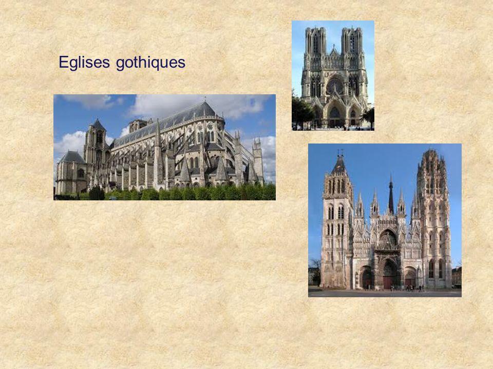 Eglises gothiques