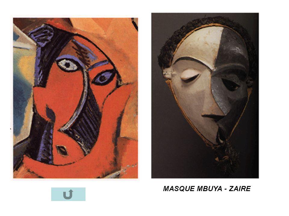 MASQUE MBUYA - ZAIRE