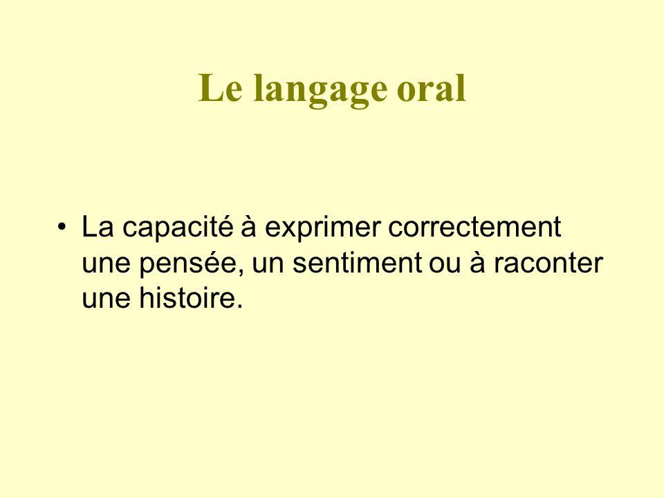 Comment se met en place le langage .