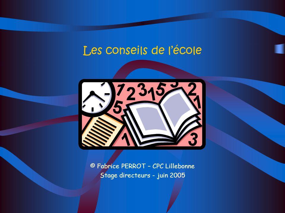 Le conseil décole Les rubriques du P.V : Fonctionnement du conseil d école Restauration scolaire et hygiène Vie scolaire Activités post et périscolair