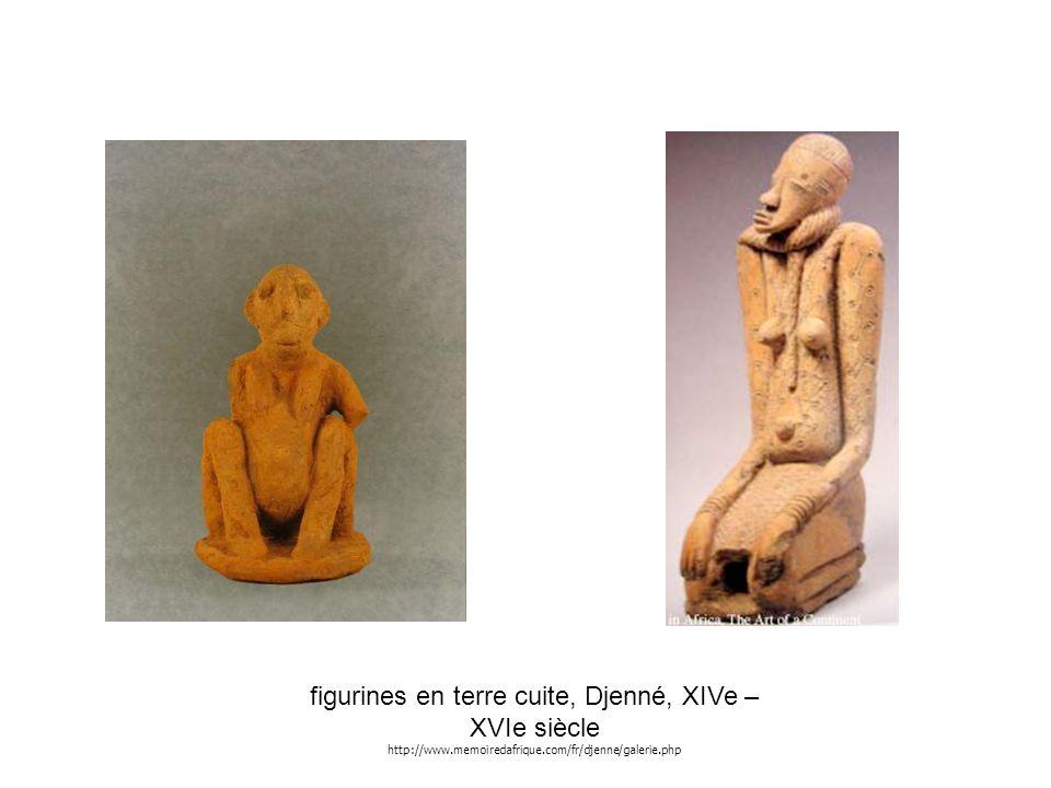 figurines en terre cuite, Djenné, XIVe – XVIe siècle http://www.memoiredafrique.com/fr/djenne/galerie.php