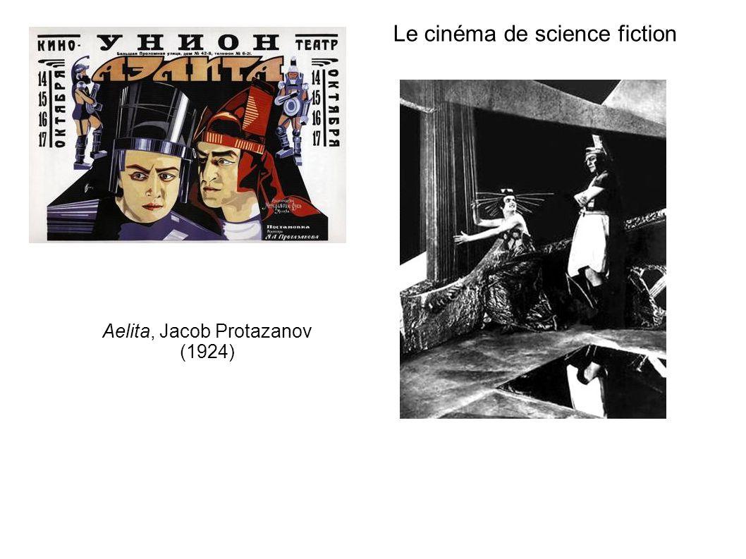 Le cinéma de science fiction Aelita, Jacob Protazanov (1924)