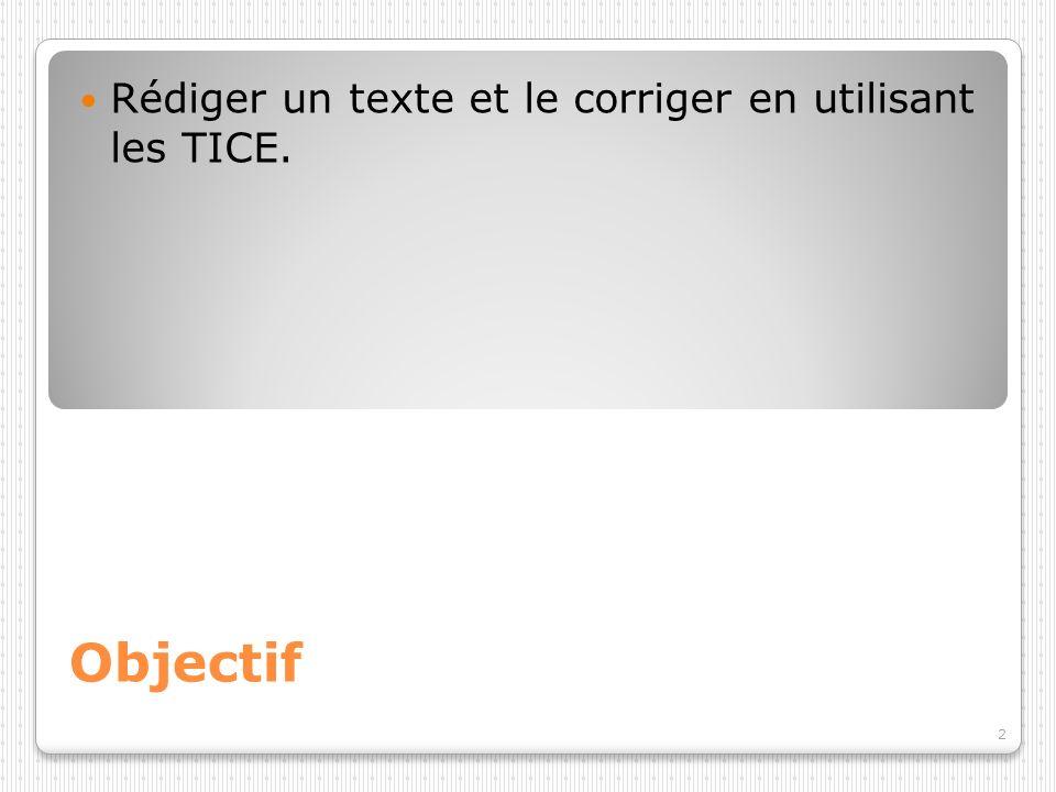3 Programme 2008. TICE : B2i Maîtrise de la langue.