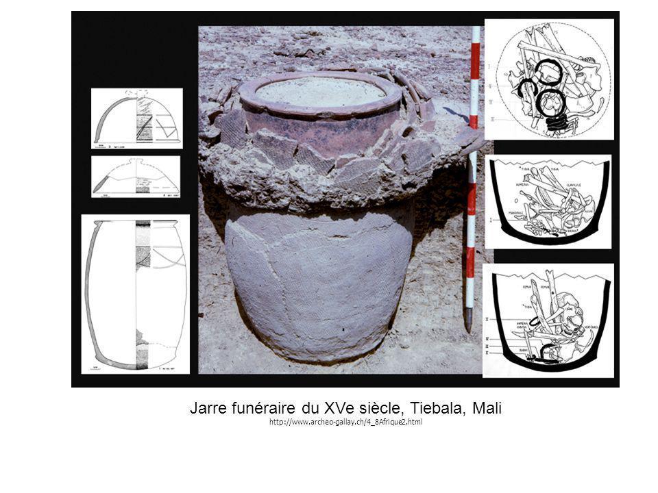 Jarre funéraire du XVe siècle, Tiebala, Mali http://www.archeo-gallay.ch/4_8Afrique2.html