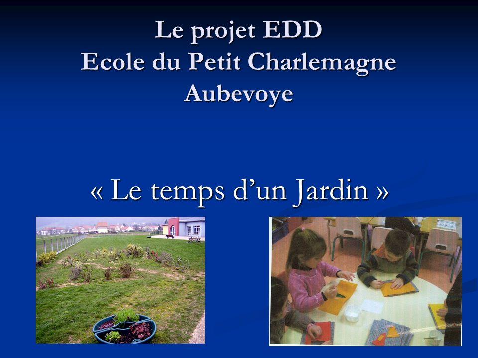 « Le temps dun jardin » Ecole du Petit Charlemagne Aubevoye Volet social Le patrimoine culturel La diversité culturelle Lalimentation La solidarité Santé hygiène