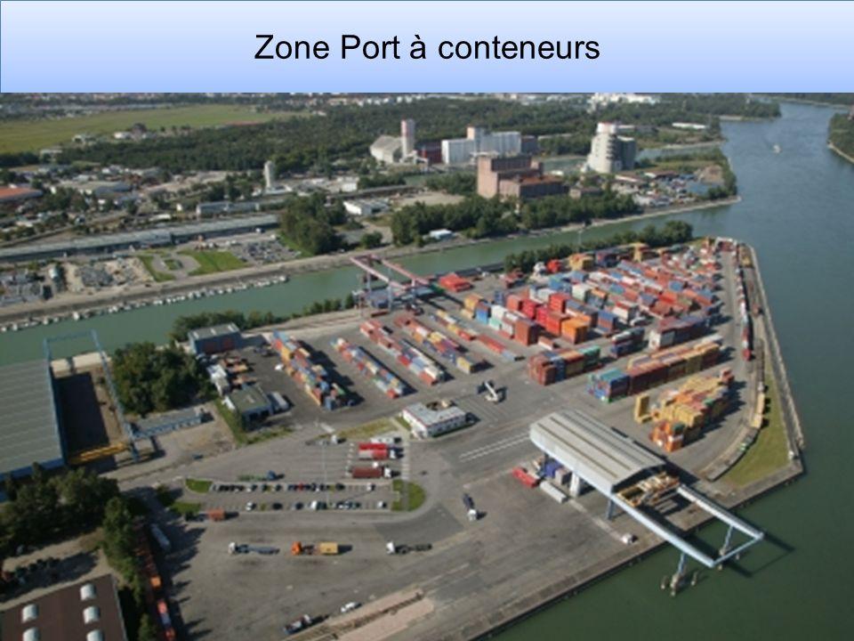 Zone Port à conteneurs