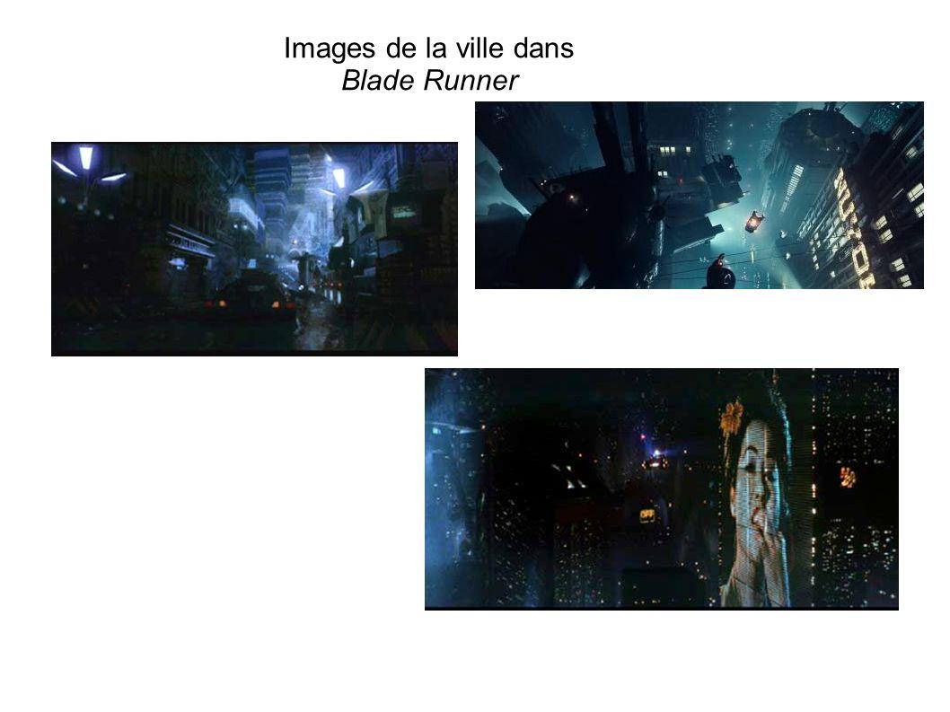 Images de la ville dans Blade Runner