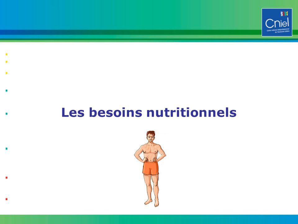 7 Les besoins nutritionnels