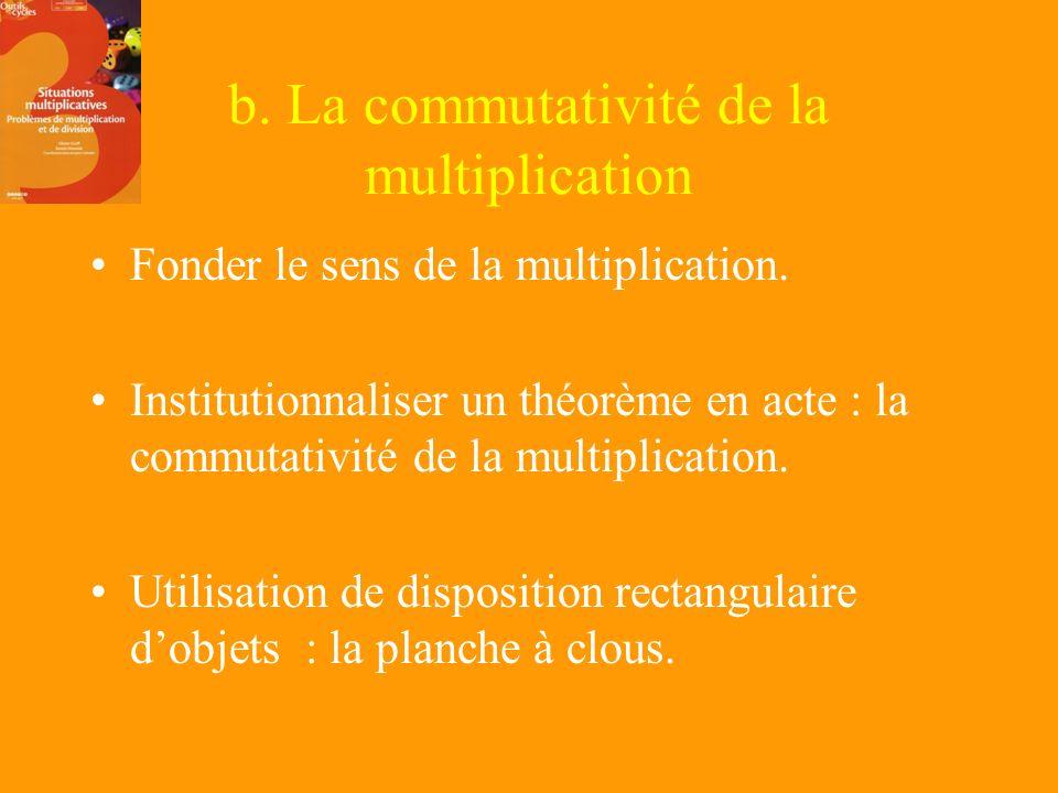 Intérêt à travailler cette typologie. La connaissance des différentes catégories par le maître va lui permettre de mettre en place une programmation.