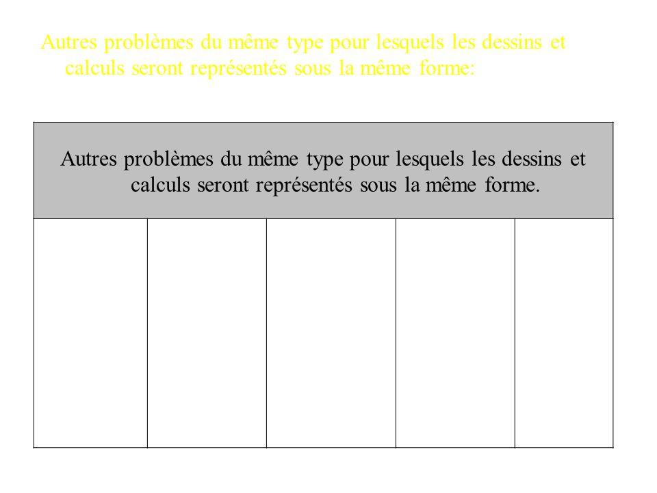 Présentation de la situation en contexte Fiche outil Type de problème n°___ Enoncé : Au jeu des enveloppes, Léo a gagné 95 jetons répartis en 5 envelo