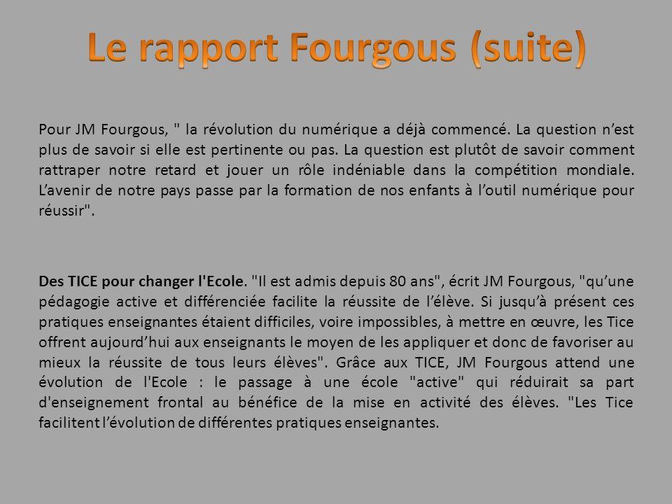 Pour JM Fourgous,