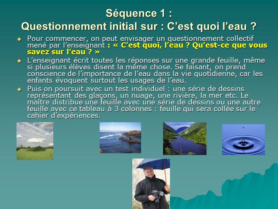 Séance 2 : Fabriquer de la glace Objectif : Objectif : Constater la réversibilité du changement d état de l eau.