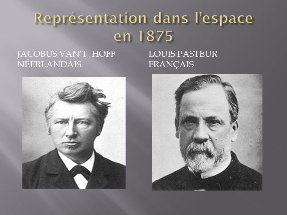 JACOBUS VANT HOFF NÉERLANDAIS LOUIS PASTEUR FRANÇAIS