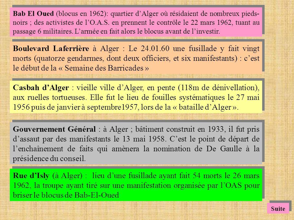 Le Caire : - en mars 1956, contact officieux entre la S.F.I.O.