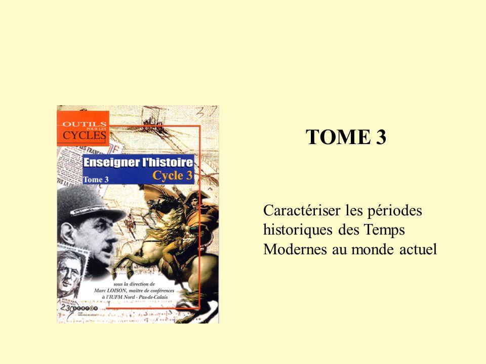 Dans la perspective du collège, mise en œuvre dateliers de lecture historique, critique interne et externe de documents Mise en œuvre dun sujet de synthèse pour remettre en ordre les 6 périodes historiques et en déterminer les caractéristiques majeures 4.