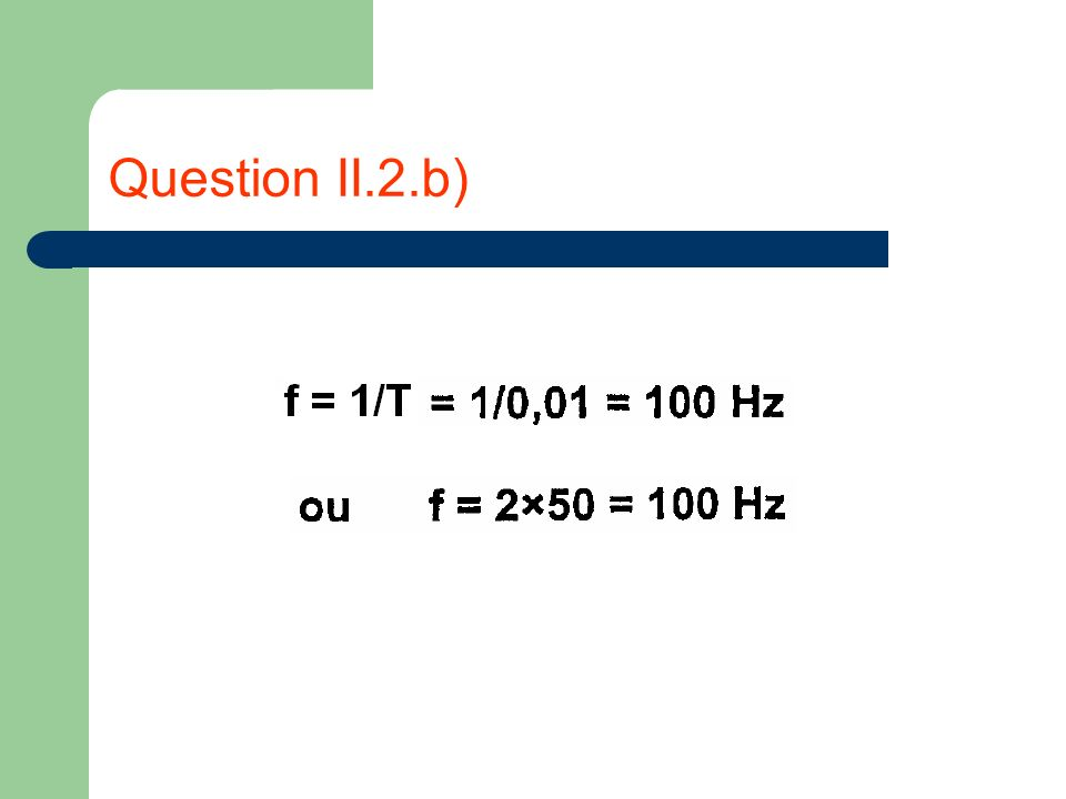 Question II.2.b)