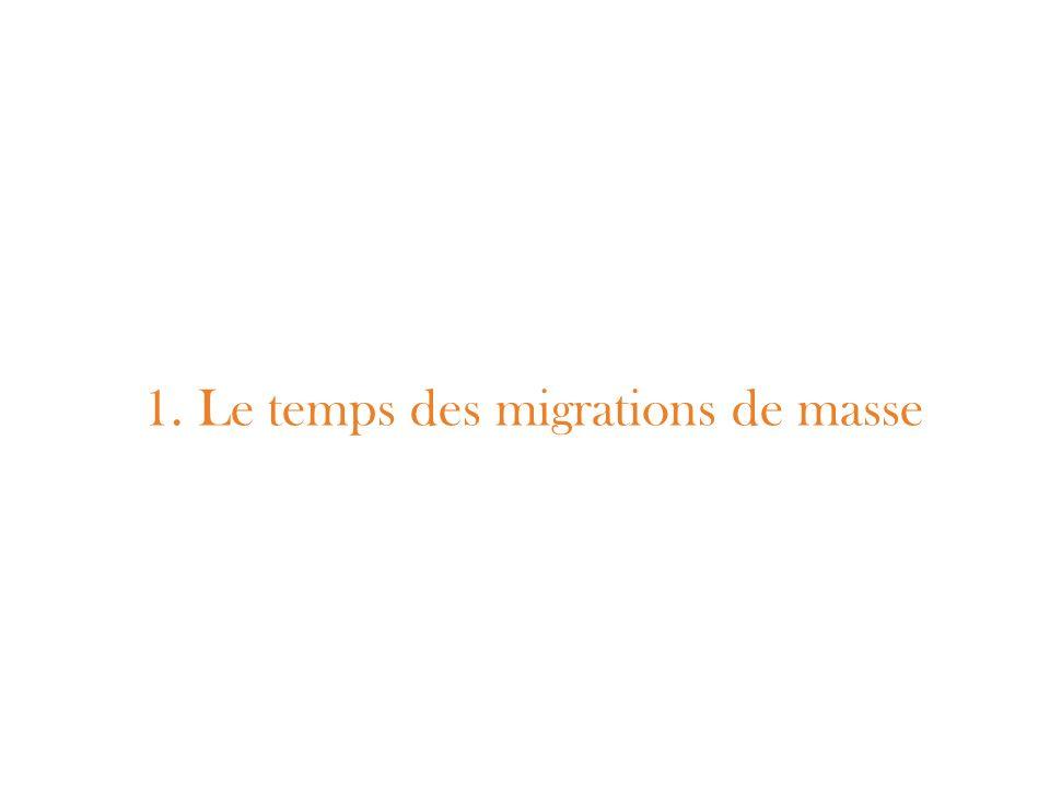 Les grandes migrations transatlantiques