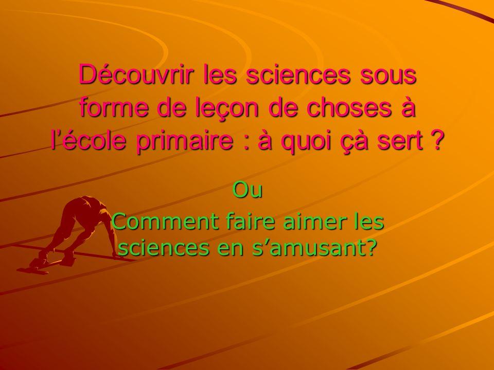 Constat : La France manque de scientifiques de haut niveau, de chercheurs.