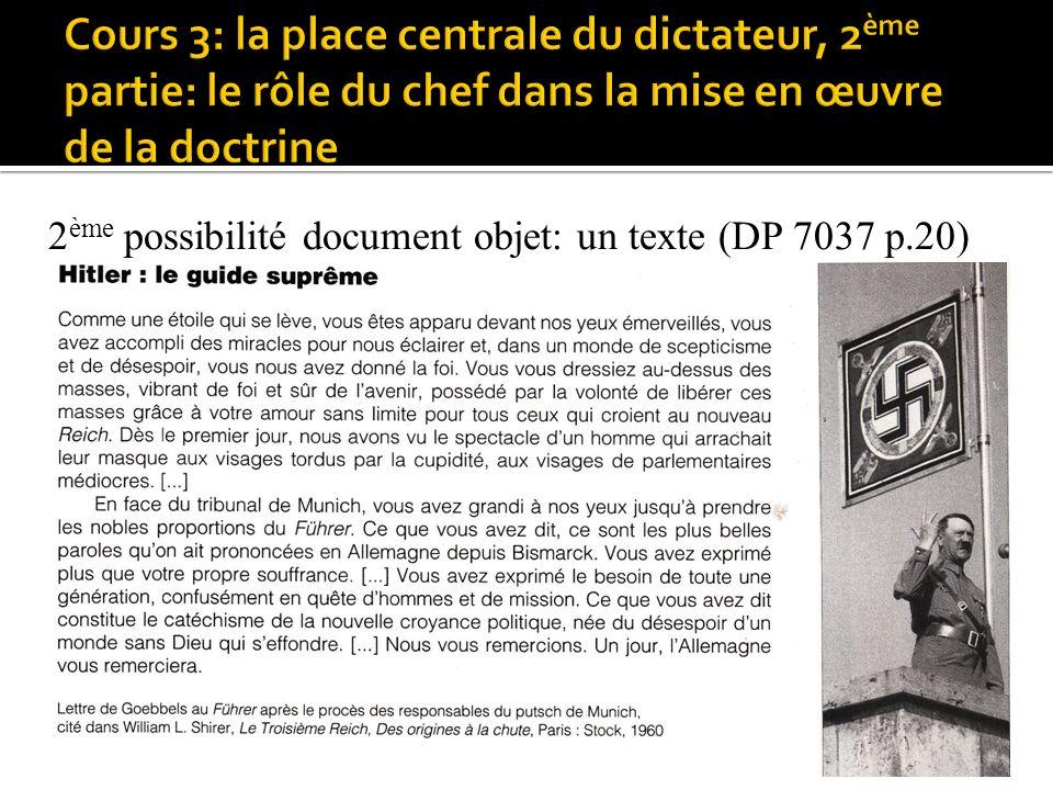 2 ème possibilité document objet: un texte (DP 7037 p.20) image
