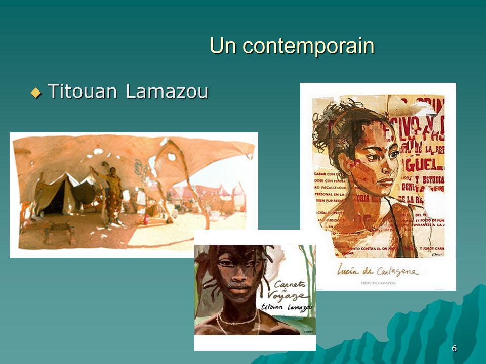 6 Un contemporain Titouan Lamazou Titouan Lamazou