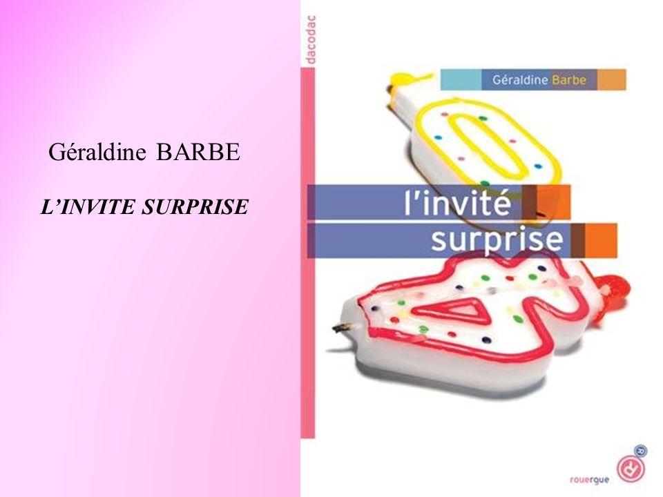 Géraldine BARBE LINVITE SURPRISE