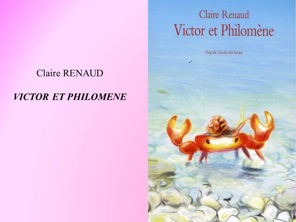Claire RENAUD VICTOR ET PHILOMENE
