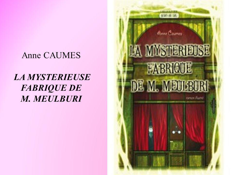Anne CAUMES LA MYSTERIEUSE FABRIQUE DE M. MEULBURI