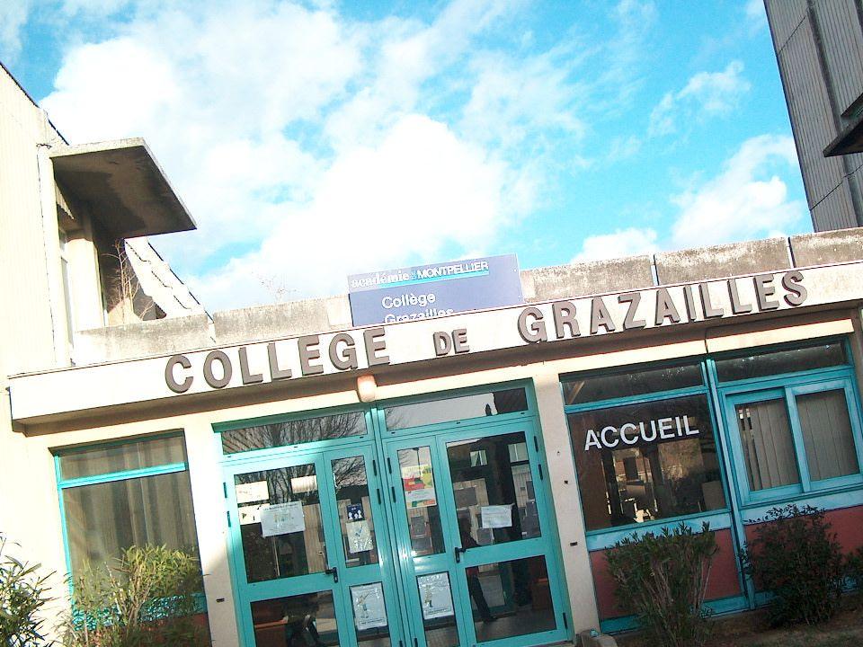 Collège de Grazailles CARCASSONNE Le Collège de Grazailles en Chiffres 3 Unités de Formation Enseignement Général (26 divisions/673 élèves) Enseignement Général et Professionnel Adapté (6 divisions/75 élèves) Unités Localisées pour lInclusion Scolaire (2 divisions/21 élèves) Au total, 769 élèves accueillis au Collège de Grazailles