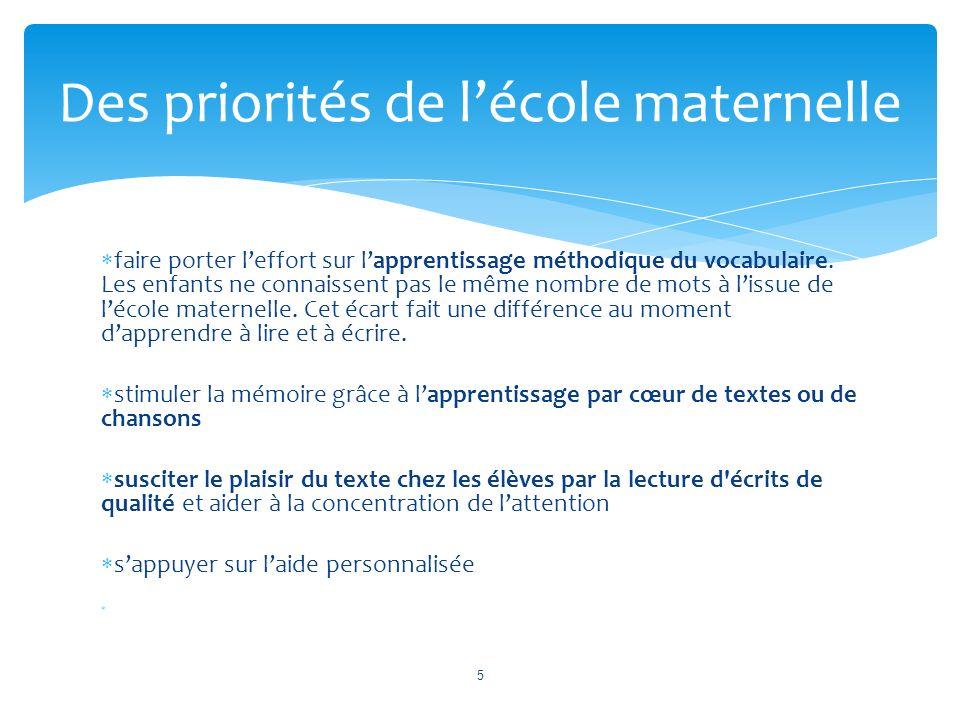 Prévention de lillettrisme : en lien avec les deux grandes finalités de la réforme de lécole primaire de 2008 : - réduction de léchec scolaire, - réduction du poids des déterminismes sociaux.