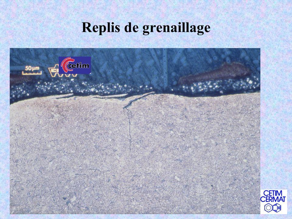 Le microscope électronique à balayage - MEB Ca sert à : « voir avec des e - » de 25X à 100 000X Ca se pratique sur : tout matériau qui rentre dans la chambre (sec, sans espèces volatiles), brut ou coupe micrographique polie Exemples : toute la fractographie, les états de surface,… Nota : grande profondeur de champ, « non destructif » Technique de base