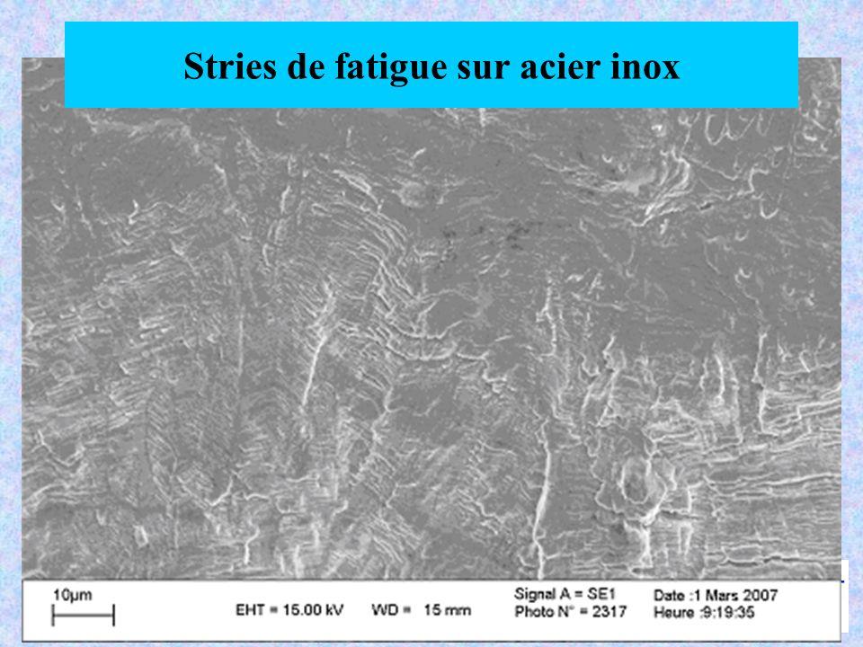 Contrôle par magnétoscopie Autres exemples : Roulements à billes Visserie Pièces rectifiées …